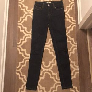 Gap 27 tall denim